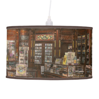 Pharmacy - Weller's Pharmacy 1915 Hanging Lamp