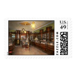 Pharmacy - Weller's Pharmacy 1915 Postage
