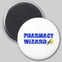 Pharmacy Wizard 2 Inch Round Magnet
