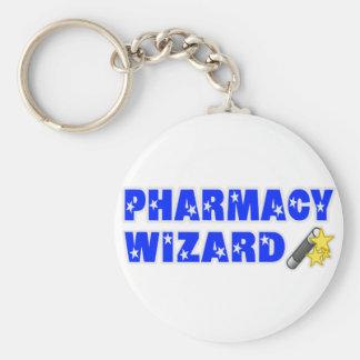 Pharmacy Wizard Keychain