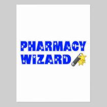 Pharmacy Wizard Postcard