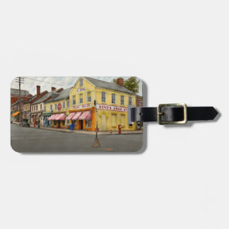 Pharmacy - WL Bond Drugs and Seeds 1927 Luggage Tag