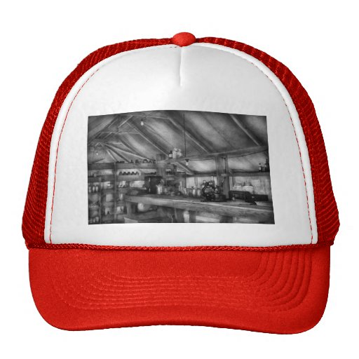 Pharmacy - WWII - Station hospital lab Mesh Hats