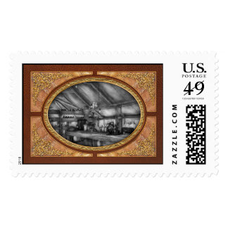 Pharmacy - WWII - Station hospital lab Postage Stamps
