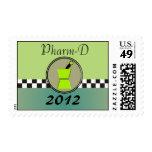 PharmD 2012 Graduation Postage Stamps
