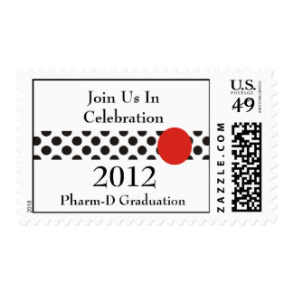 PharmD 2012 Graduation Postage Stamps