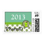 PharmD 2013 Graduation Postage Stamps