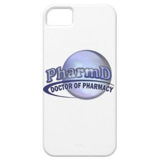 PharmD  BLUE LOGO -  DOCTOR OF PHARMACY iPhone 5 Cover