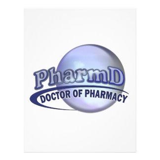 PharmD  BLUE LOGO -  DOCTOR OF PHARMACY Letterhead