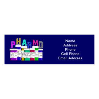 PharmD Business Cards