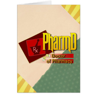 PharmD Doctor of Pharmacy LOGO Card