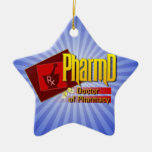 PharmD Doctor of Pharmacy LOGO Ornaments