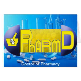 PharmD - Doctor of Pharmacy PILL Card