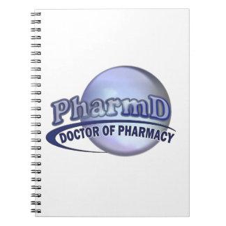 PharmD LOGO - DOCTOR OF PHARMACY Notebook