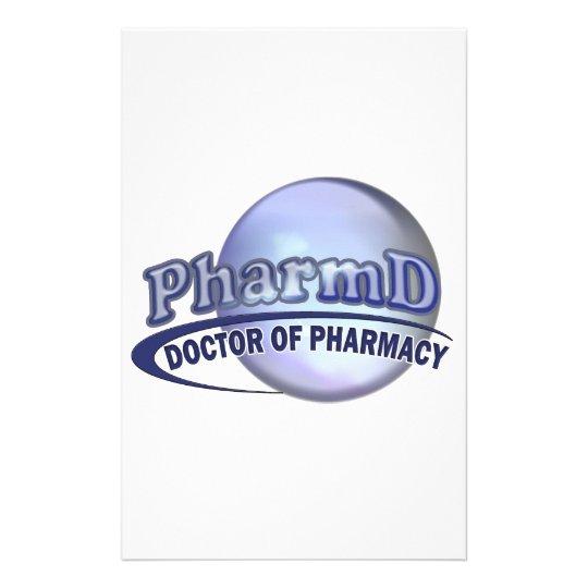 PharmD LOGO - DOCTOR OF PHARMACY Stationery