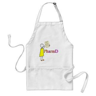 PharmD Pharmacy Student Gifts Adult Apron