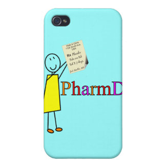 PharmD Pharmacy Student Gifts iPhone 4 Cover