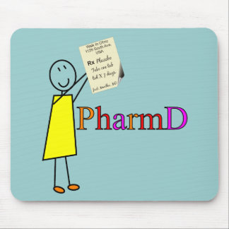 PharmD Pharmacy Student Gifts Mouse Pad