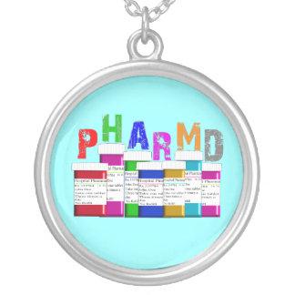PharmD Pharmacy Student Sterling Necklace