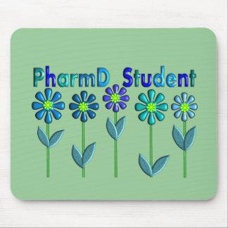 PharmD Student BLUE FLOWERS Mouse Pad
