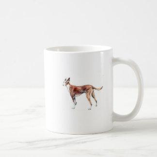 Pharoah Hound Classic White Coffee Mug