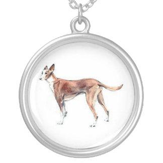 Pharoah Hound Dog Necklace