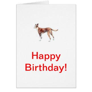Pharoah Hound Greeting Card