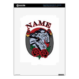 Pharoahs Horses Name Decal For iPad 3