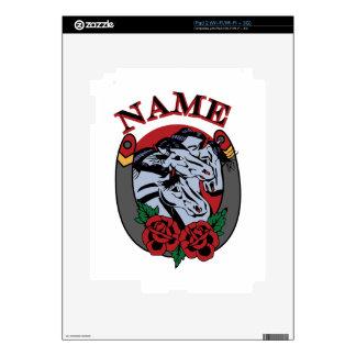 Pharoahs Horses Name iPad 2 Decals