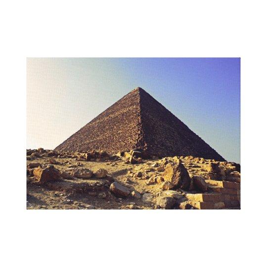 Pharoahs Pyramid Canvas Print