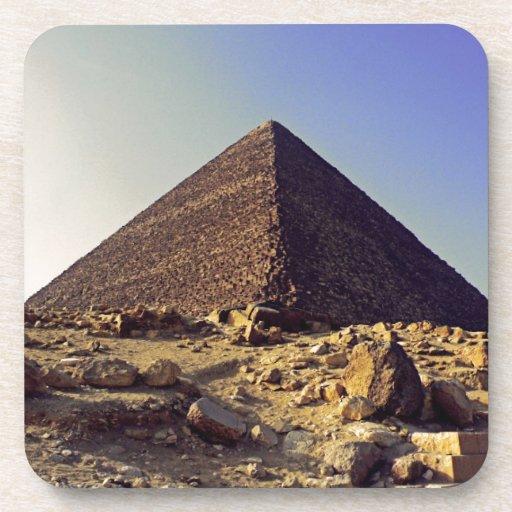 Pharoahs Pyramid Drink Coasters