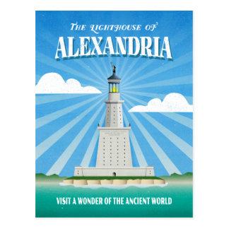 Pharos Lighthouse of Alexandria Postcard
