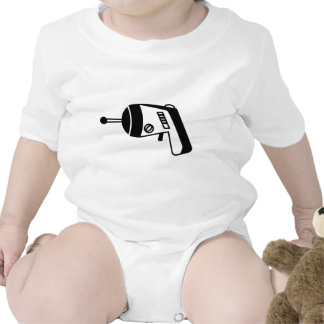 Phaser Gun Baby Bodysuits