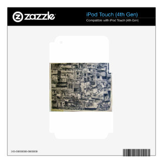 phases and buildings iPod touch 4G skin