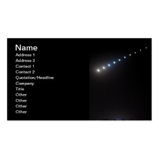 Phases-of-a-moon-eclipse.jpg PHASES MOON ECLIPSE N Double-Sided Standard Business Cards (Pack Of 100)