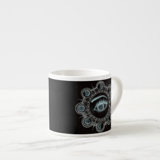 Phases of the Moon Eye Espresso Cup