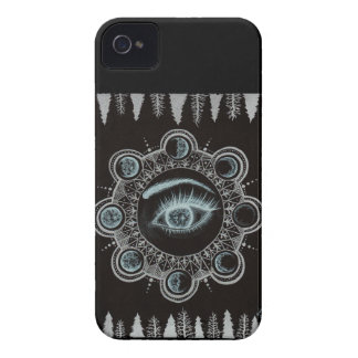 Phases of the Moon Eye iPhone 4 Case-Mate Case