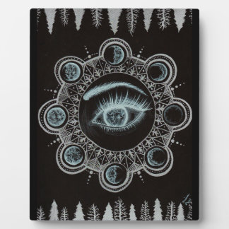 Phases of the Moon Eye Plaque