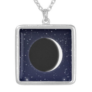 Phases of the Moon, new moon Pendant