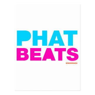 Phat Beats Postcard