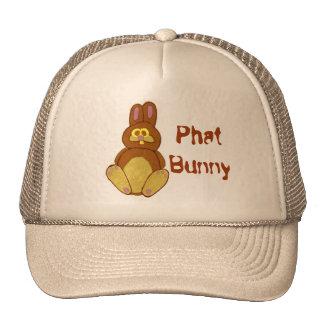 Phat Bunny Fat Cartoon Rabbit Trucker Hat