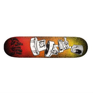 Phat Caps Custom Skate Board