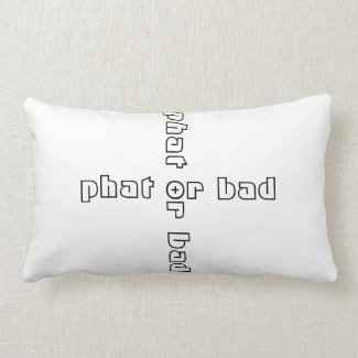 'Phat' Cotton Lumbar Pillow