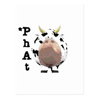 phat cow post cards