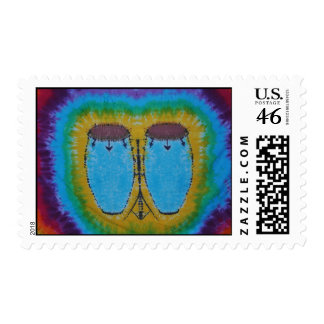 Phat Dyes Blue Congas Tie Dye Stamps