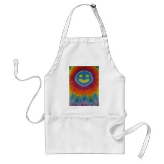 Phat Dyes - Happy Face- Tie Dyes Adult Apron