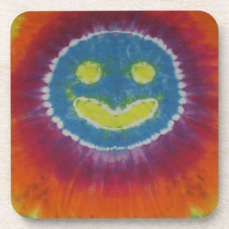 Phat Dyes - Happy Face- Tie Dyes Coaster