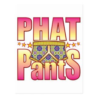 Phat Flowery Pants Post Cards
