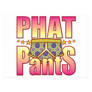 Phat Flowery Pants Postcard