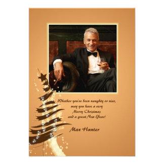 Phat Tree Holiday Photo Card